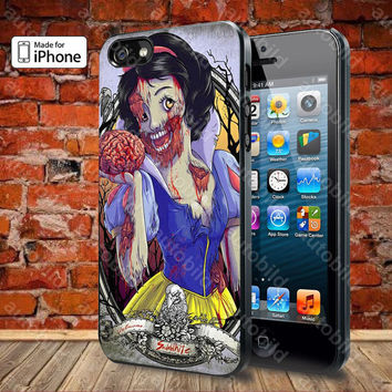 The Zombie Snow White princess Case For iPhone 5, 5S, 5C, 4, 4S and Samsung Galaxy S3, S4