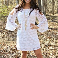 Do You Remember Me Lace Dress