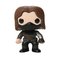 Marvel Captain America: The Winter Soldier Pop! Winter Solider Unmasked Vinyl Figure