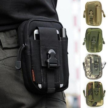 ONETOW Outdoor Multifunctional Tactical Drop Oxford Cloth Bag Hiking Travel Tool Waist Pack Motorcycle Sports Ride Pack 5 Colors