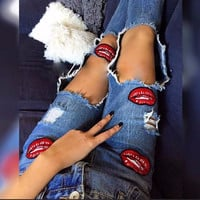 2016 Fashion Casual Women Brand Vintage Skinny Denim Jeans