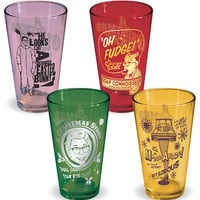 A Christmas Story Glass Set from Baron Bob