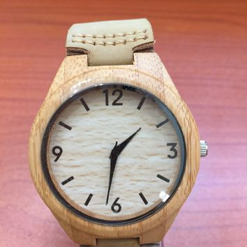 Bamboo Wood With Number
