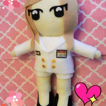 "Kpop SNSD Jessica plushie plush toy doll ""Genie"" MV version"