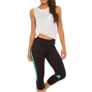 Running Past Activewear Pants - Teal
