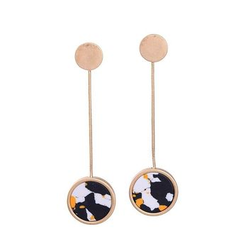 HEATHER - Abstract Marble Bunjee Drops