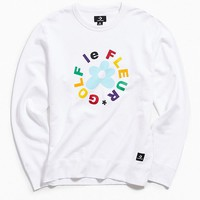 Converse X Golf Le Fleur Essentials Crew Neck Sweatshirt | Urban Outfitters
