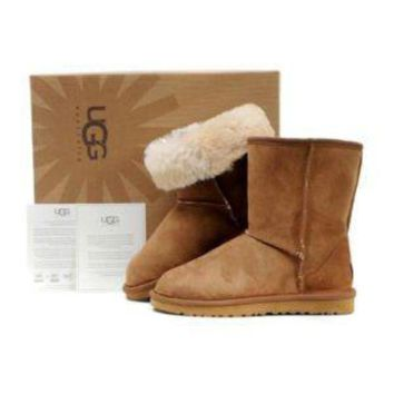 DCCK8X2 Ugg Boots Ankle height