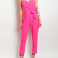'Passion Pink' Jumpsuit