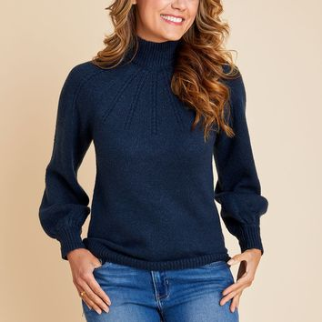 BB Dakota Live and Let Live Keyhole Back Sweater