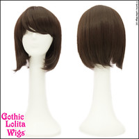 Gothic Lolita Wigs® Straight Bob™ Collection - Dark Brown