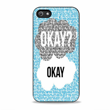 Okay Okay The Fault in Our Stars movies Iphone 5S Cases