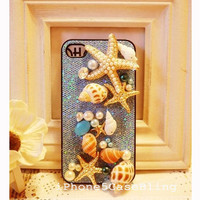 iPhone 4 Case, iPhone 5 Case, halloween iphone 5 case, cute iPhone 4 case, cute iPhone 5 case, Unique iphone 4 case, starfish iphone 4 case
