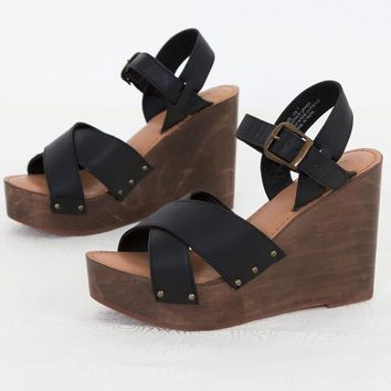 Rag & Co Leather Sandal