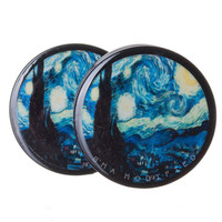 Starry Night BMA Plugs (6mm-60mm)