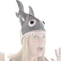 Deluxe Shark Hat - Funny Halloween Costume Accessory