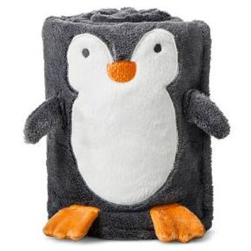 Character Baby Blanket - Holiday Penguin : Target