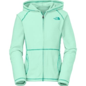 The North Face Girls' Glacier Full Zip Fleece Hoodie