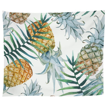 Population: Pineapple Tapestry