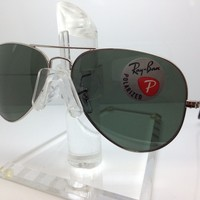 New Ray Ban Sunglasses RB 3025 003/59 58M SILVER/MIRROR POLARIZED rb3025 rayban