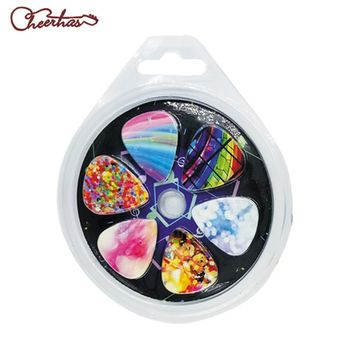 best gift 12pcs girls pretty guitar pick plectrum blister set Assorted Variety 12-Pack Collection Pretty Unique Designs