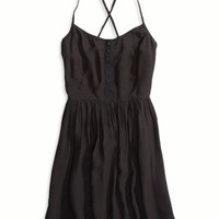 AEO Women's Factory Fit & Flare Dress