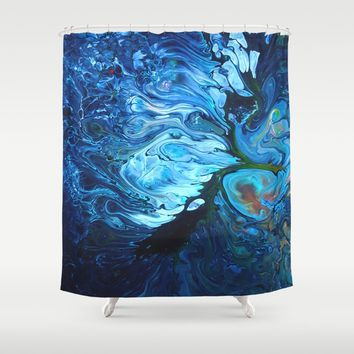 Organic.2 Shower Curtain by DuckyB