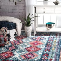 nuLOOM Tribal Mayola Area Rug