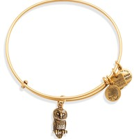 Alex and Ani Ode to the Owl Expandable Wire Bangle, Charity by Design Collection