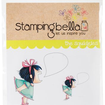 Stamping Bella Cling Stamps-Screamy Squidgy