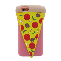 3D Pizza Silicone Phone Case