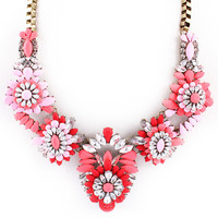 Moroccan Coast Statement Necklace