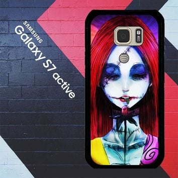 Sally The Nightmare Before Christmas Y0860 Samsung Galaxy S7 Active Case