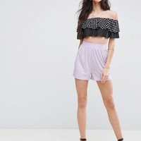 ASOS TALL Culotte Shorts at asos.com