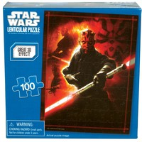 Star Wars - Darth Maul 100-Piece Holographic Puzzle