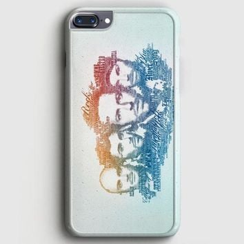 Coldplay Faces Lyrics Design iPhone 7 Plus Case