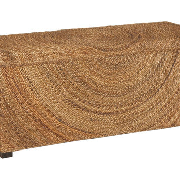 Sen Storage Bench, Natural, Bedroom Bench