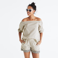 Jardin Off-the-Shoulder Top : | Madewell
