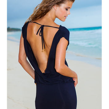 Sauvage Luxe - Mon Cheri Backless Resort Dress