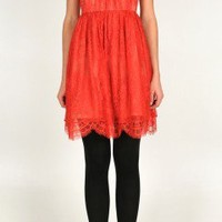 Imperial Lace Boatneck Dress | Shop | Tibi