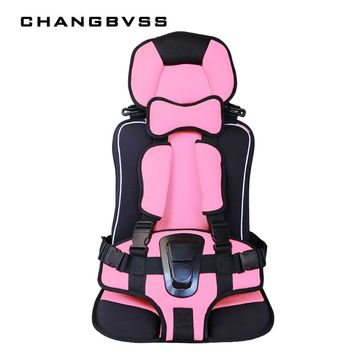 Top Selling Portable Baby Safety Seat,Big Size Four Colors Sitting Cushion Children Thicken Chairs Mats Protect Seat with Belt