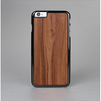The Smooth-Grained Wooden Plank Skin-Sert Case for the Apple iPhone 6 Plus