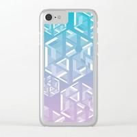 Six Clear iPhone Case by eDrawings38