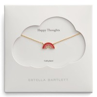 Estella Bartlett Happy Thoughts Rainbow Necklace | Nordstrom