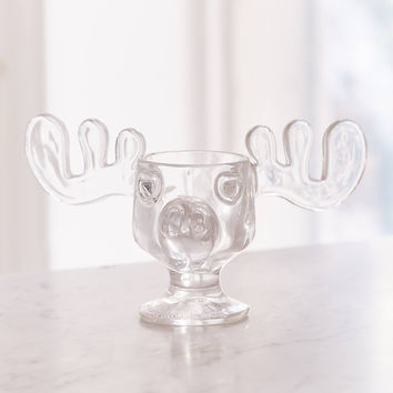 Marty Moose Glass Mug - Set of 2 | Urban Outfitters