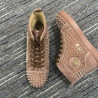 DCCK Christian Louboutin CL fashion casual shoes for men and women sneakers 90520