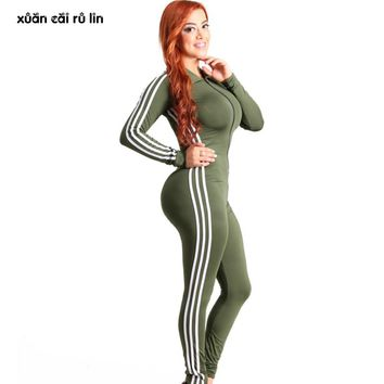 2018 Sexy club autumn winter Rompers Womens red Jumpsuit v Neck long sleeve Overalls Fitness Workout Bodysuit Leotard Playsuits