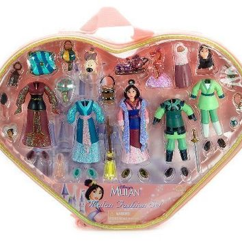Disney's Mulan Fashion Set Figures (Disney Theme Parks Exclusive)