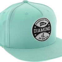 Diamond Kings Hat Adjustible Diamond Blue Snapback