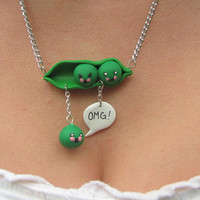$16.00 OMG pea pod fail by asphyxivix on Etsy